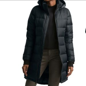 New The North Face Metropolis Hooded Down Parka